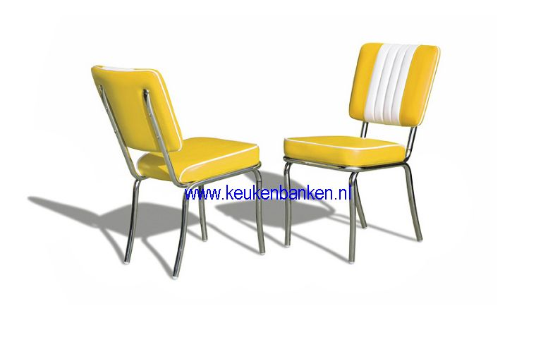 bel air stoel CO24 yellow