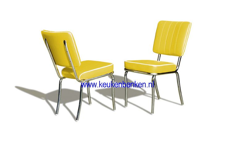 bel air stoel CO25 yellow