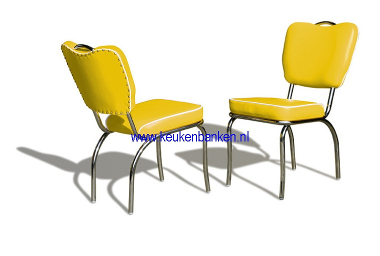bel air stoel CO26 yellow